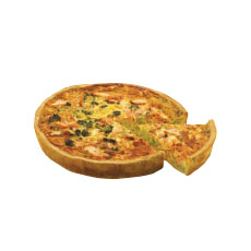 Quiche saumon brocolis 1.6 kg