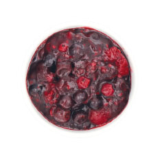 Fruits rouges cuisinés 1 kg