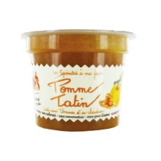 Compote tradition pomme tatin 140 g x 20 pc