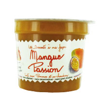 Compote tradition pomme passion/mangue 140 g x 20 pc