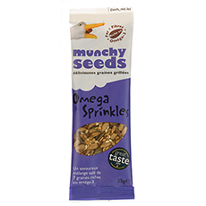 Graines Munchy Seeds omega sprinkles 25 g x 12 pc