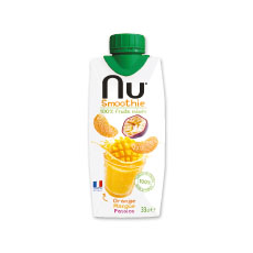 Nu smoothie orange-mangue – 330 ml x 12 pc