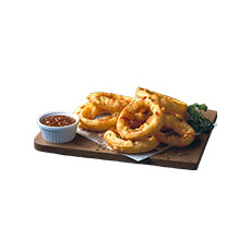 Onion rings 16 g  1 kg x 4pc