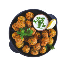Falafels spicy  30 g - 500 g x 10 pc