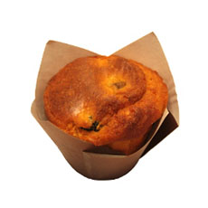 Muffin salé tomate olive – 110 g x 40 pc