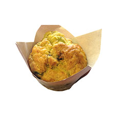 Muffin salé pesto chèvre 110 g x 40 pc